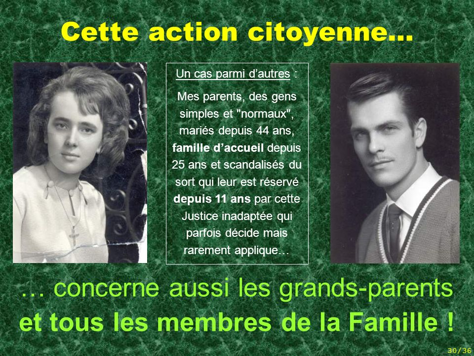 Cette action citoyenne…