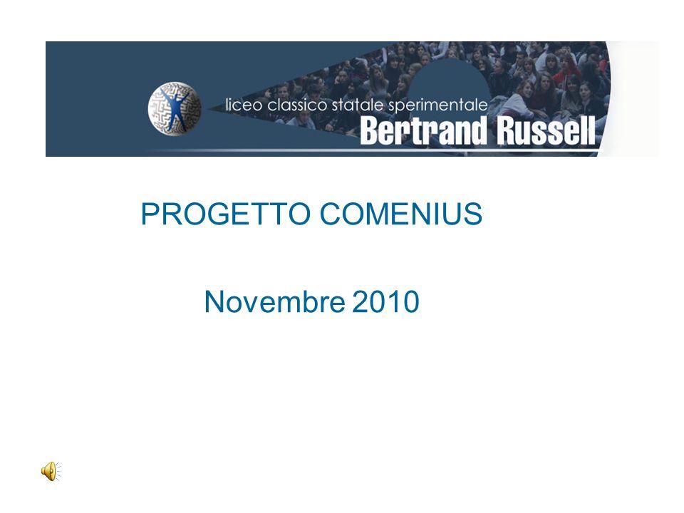 PROGETTO COMENIUS Novembre 2010