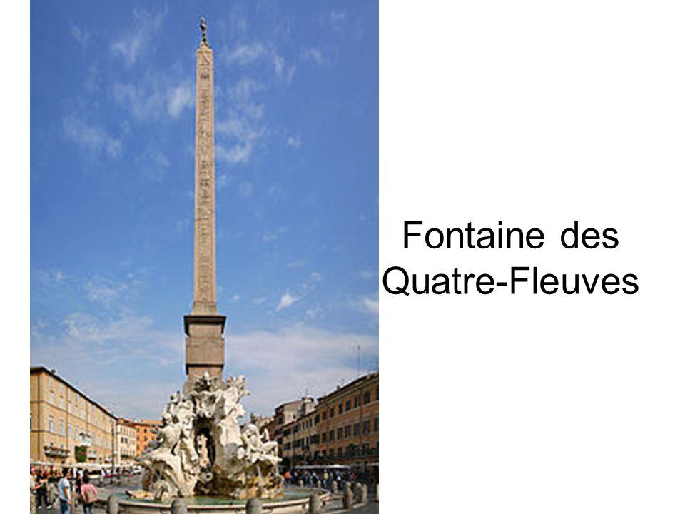 Fontaine des Quatre-Fleuves