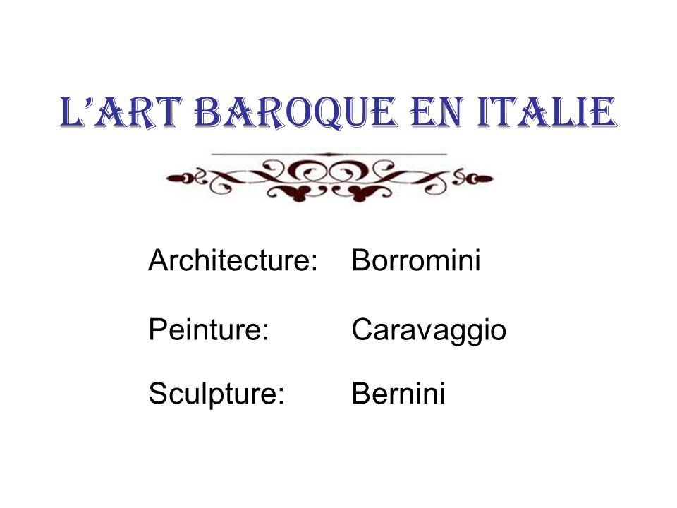 L'art baroque en Italie