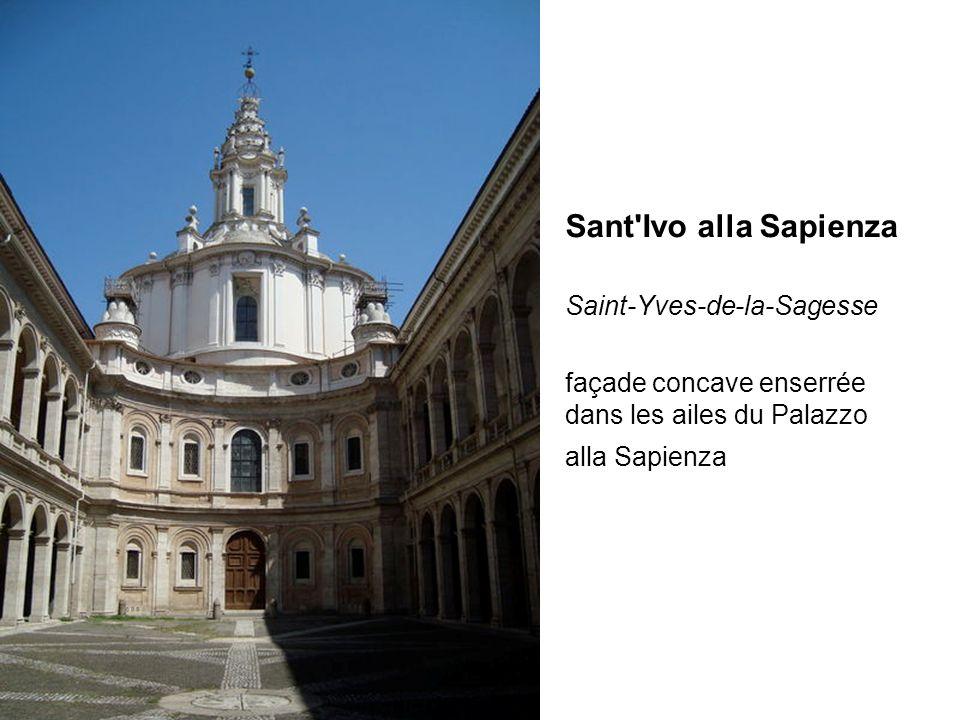 Sant Ivo alla Sapienza Saint-Yves-de-la-Sagesse