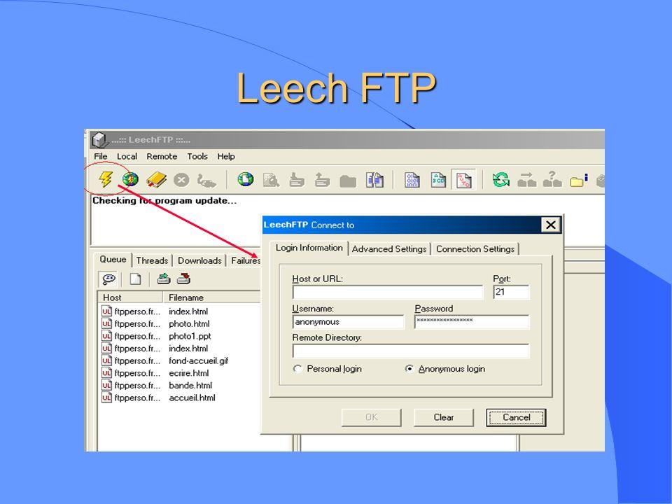 Leech FTP