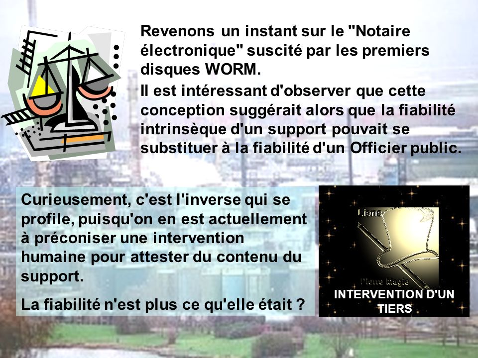 INTERVENTION D UN TIERS
