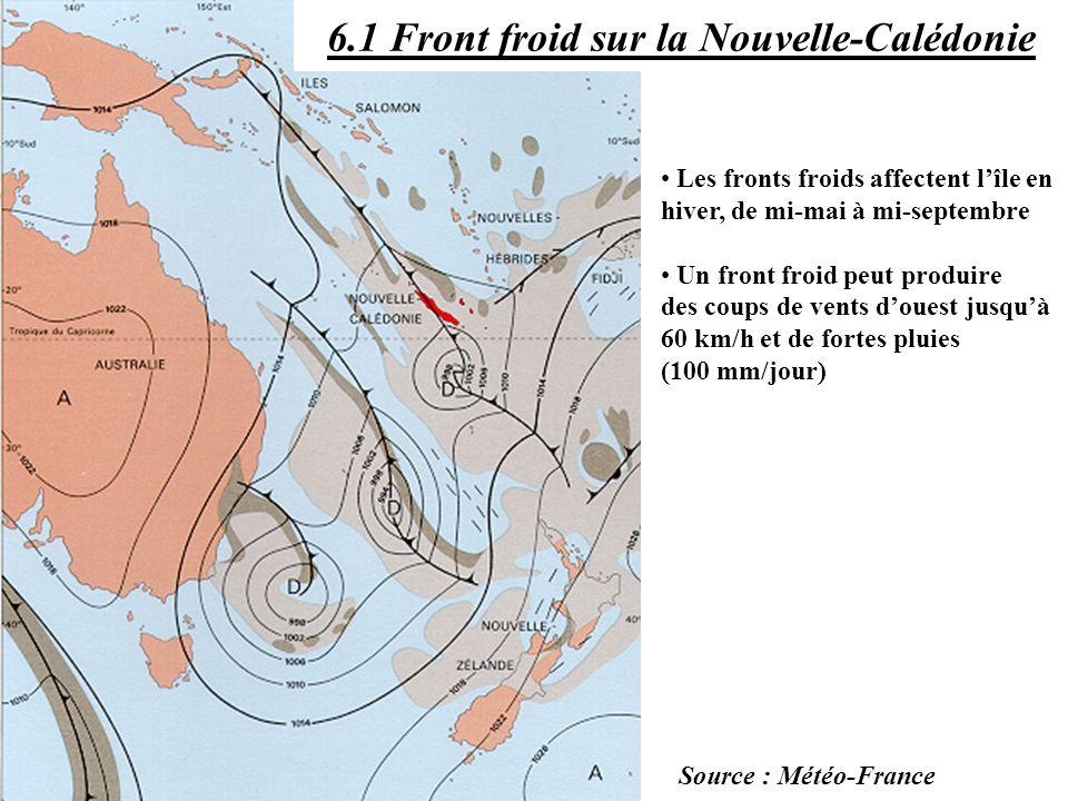 6.1 Front froid sur la Nouvelle-Calédonie