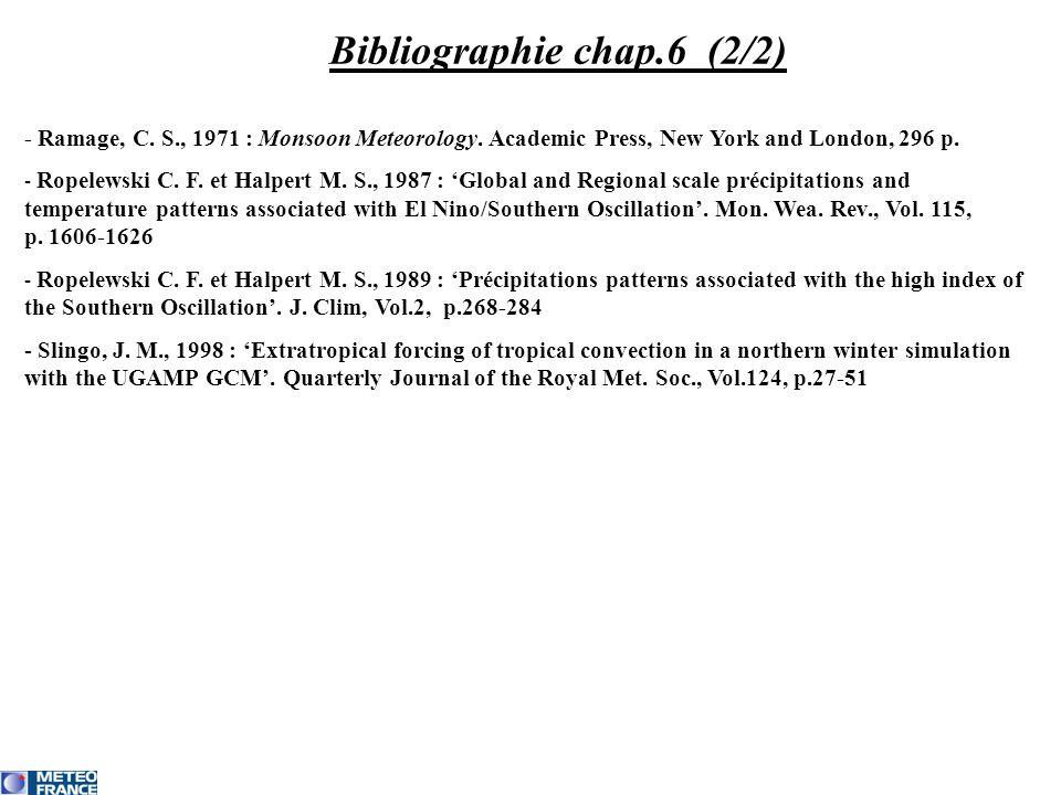 Bibliographie chap.6 (2/2)
