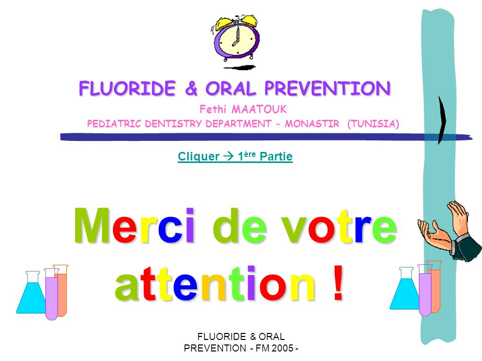 FLUORIDE & ORAL PREVENTION