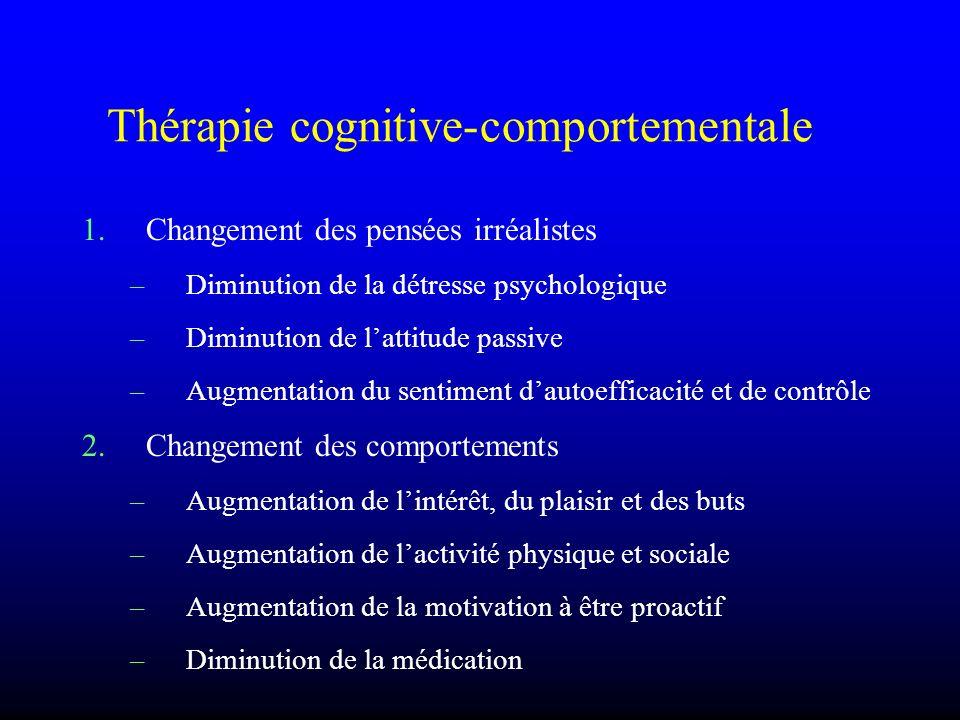 Thérapie cognitive-comportementale