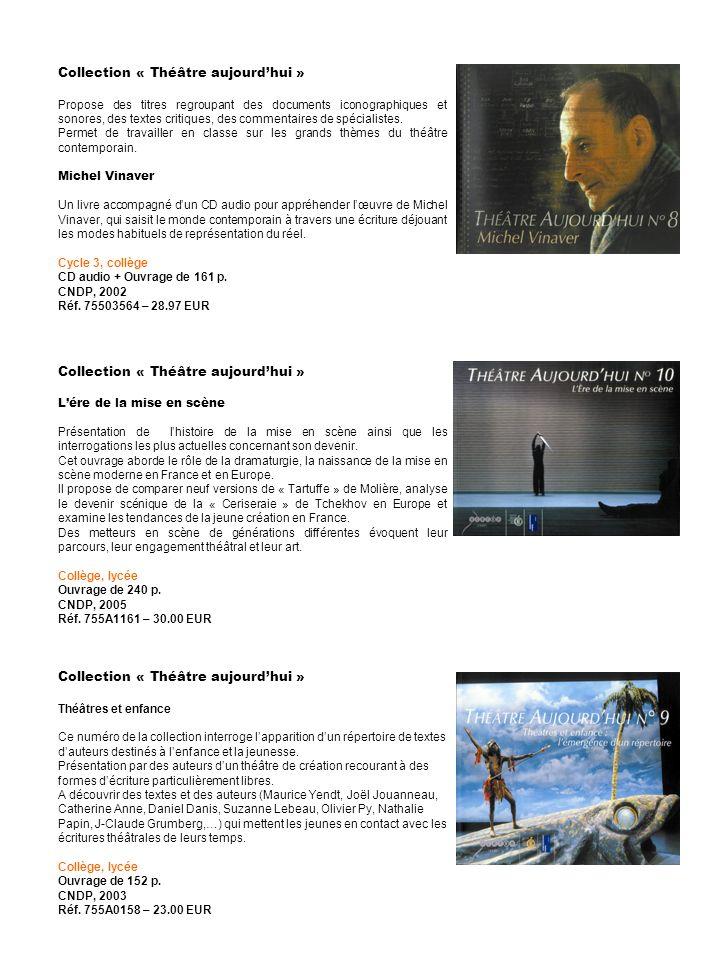 Collection « Théâtre aujourd'hui »