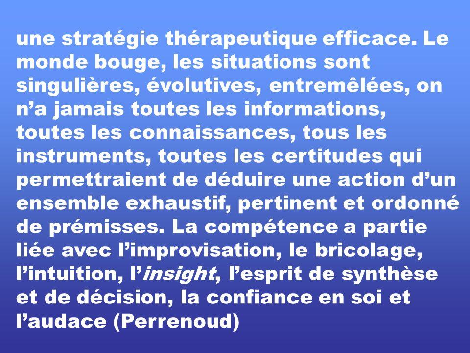 une stratégie thérapeutique efficace