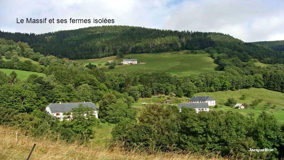 Le Massif et ses fermes isolées