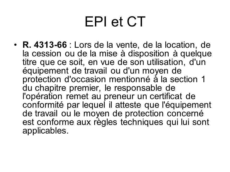EPI et CT