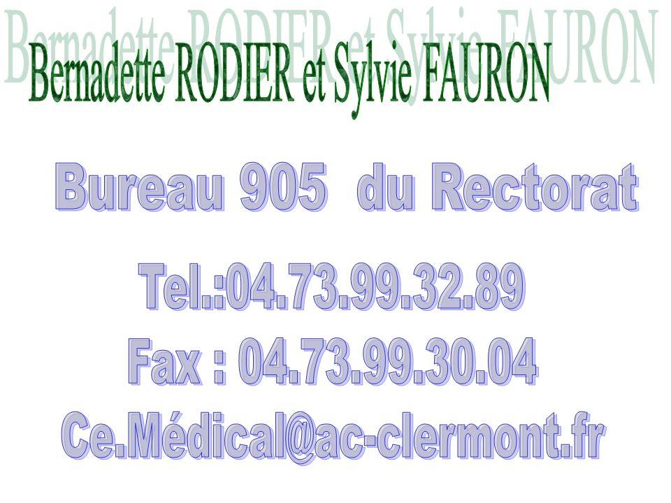 Bernadette RODIER et Sylvie FAURON