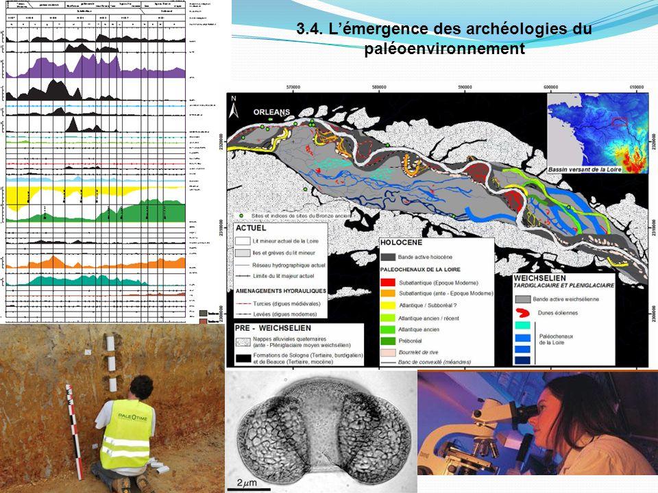 3.4. L'émergence des archéologies du paléoenvironnement