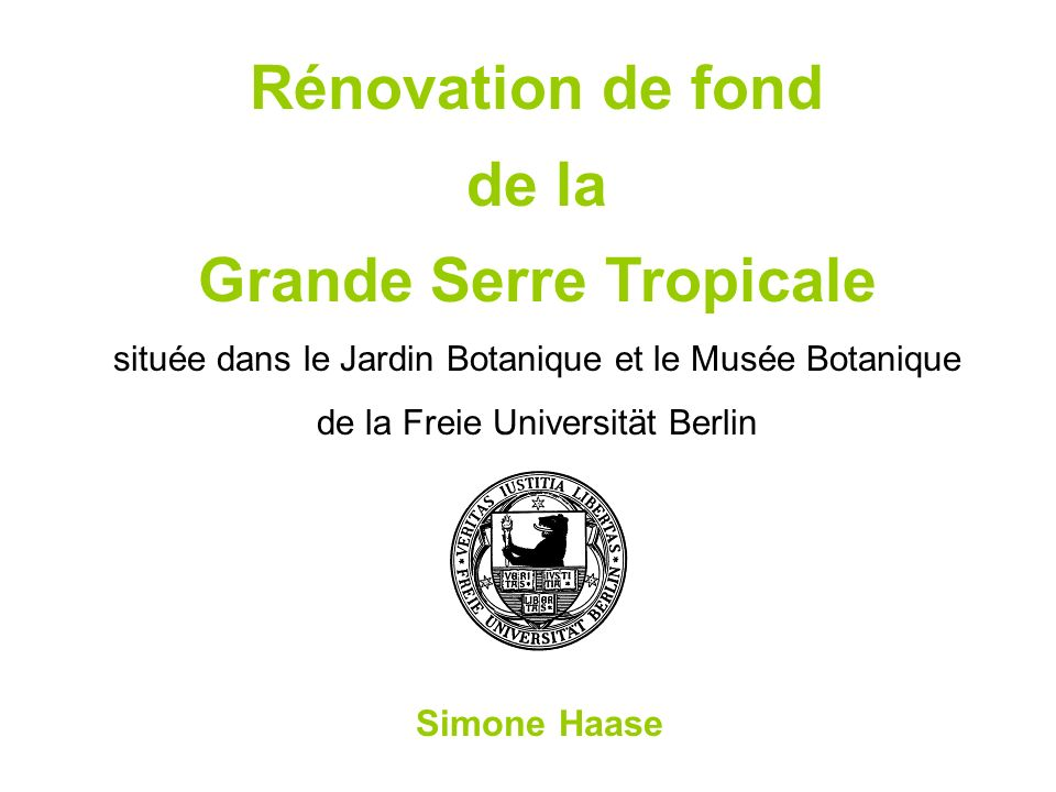 Rénovation de fond de la