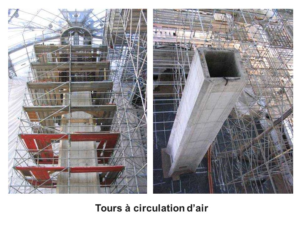 Tours à circulation d'air