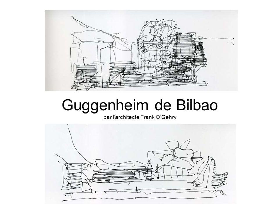 Guggenheim de Bilbao par l'architecte Frank O'Gehry