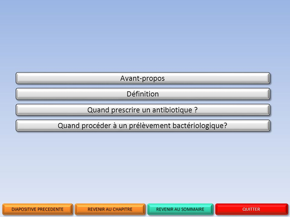 Quand prescrire un antibiotique