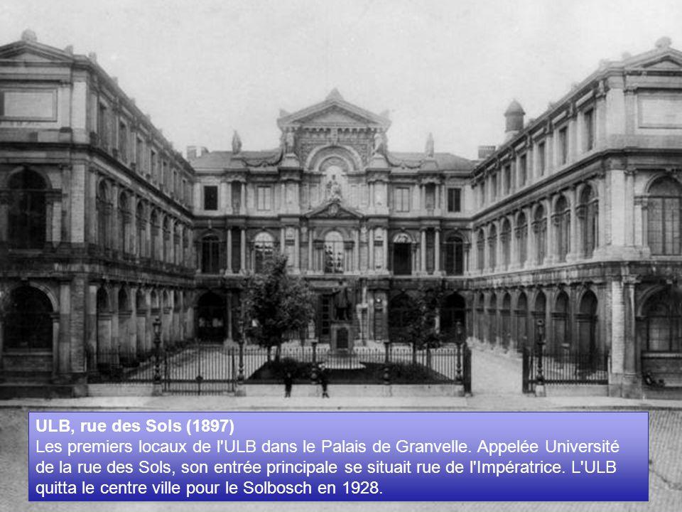 ULB, rue des Sols (1897)