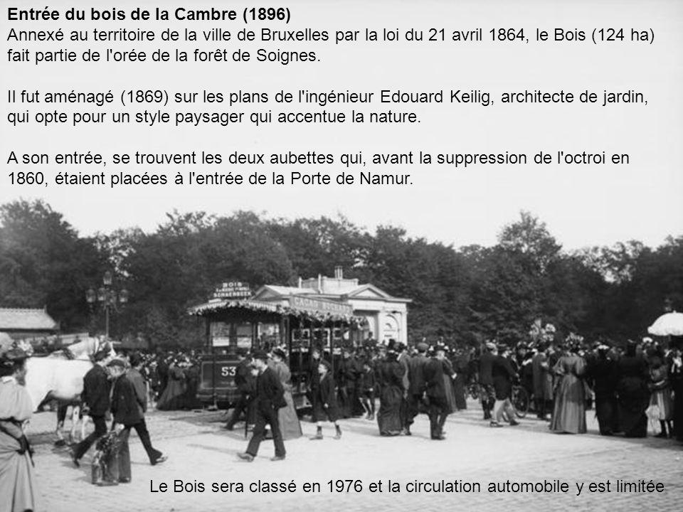 Entrée du bois de la Cambre (1896)
