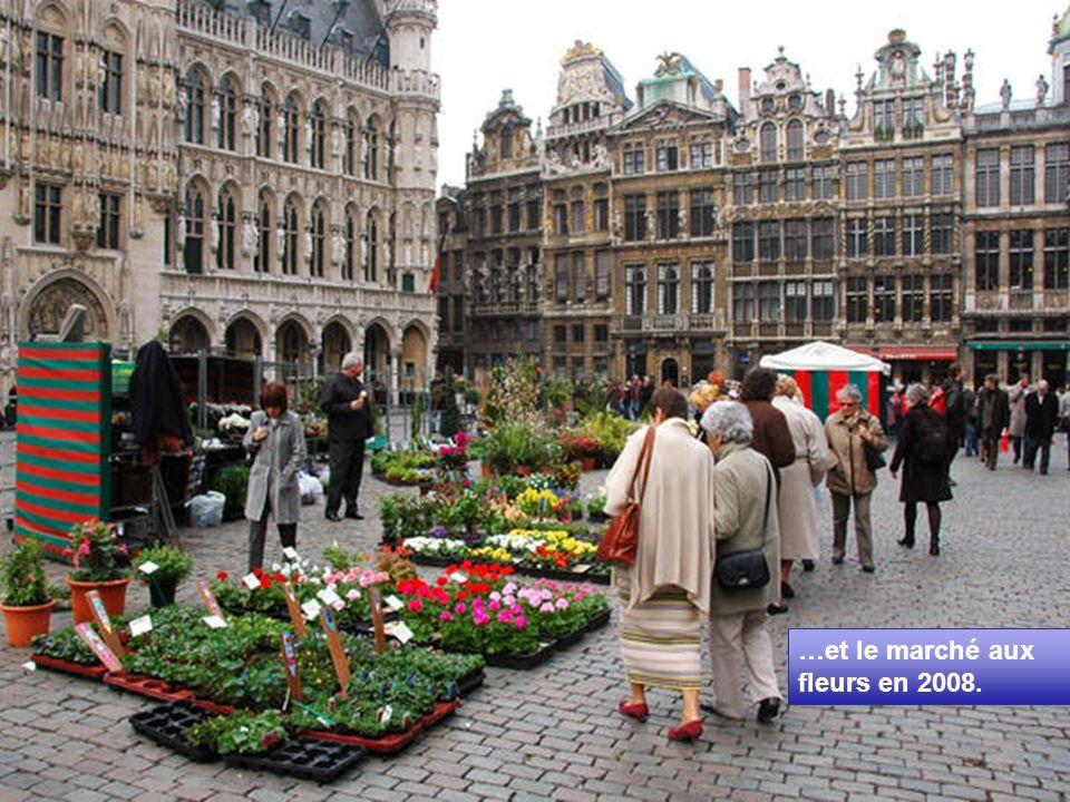 …et le marché aux fleurs en 2008.