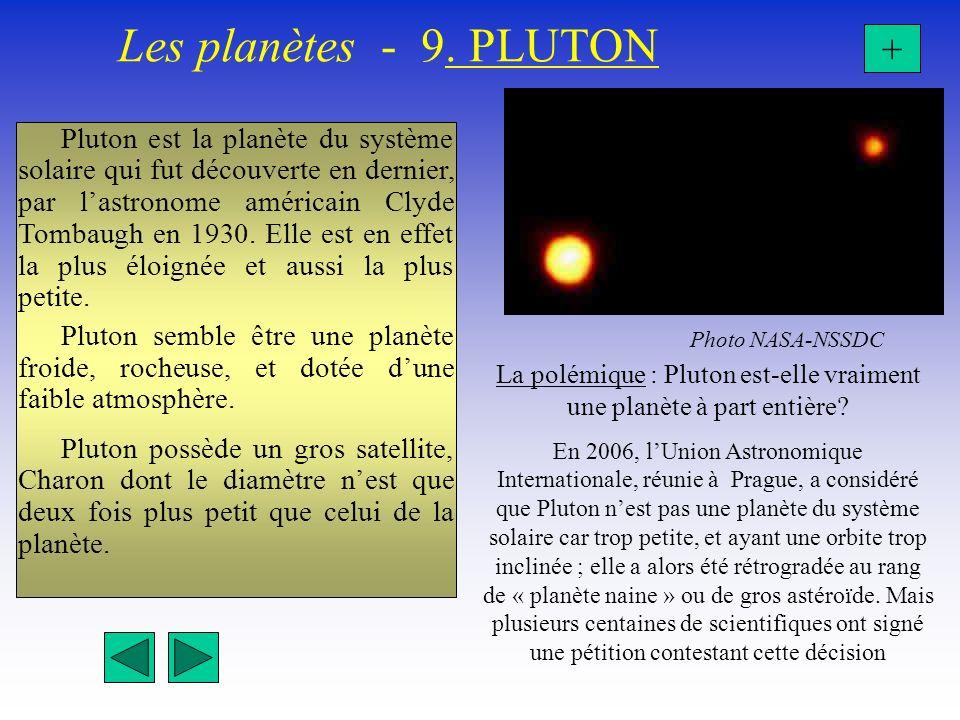 La polémique : Pluton est-elle vraiment une planète à part entière