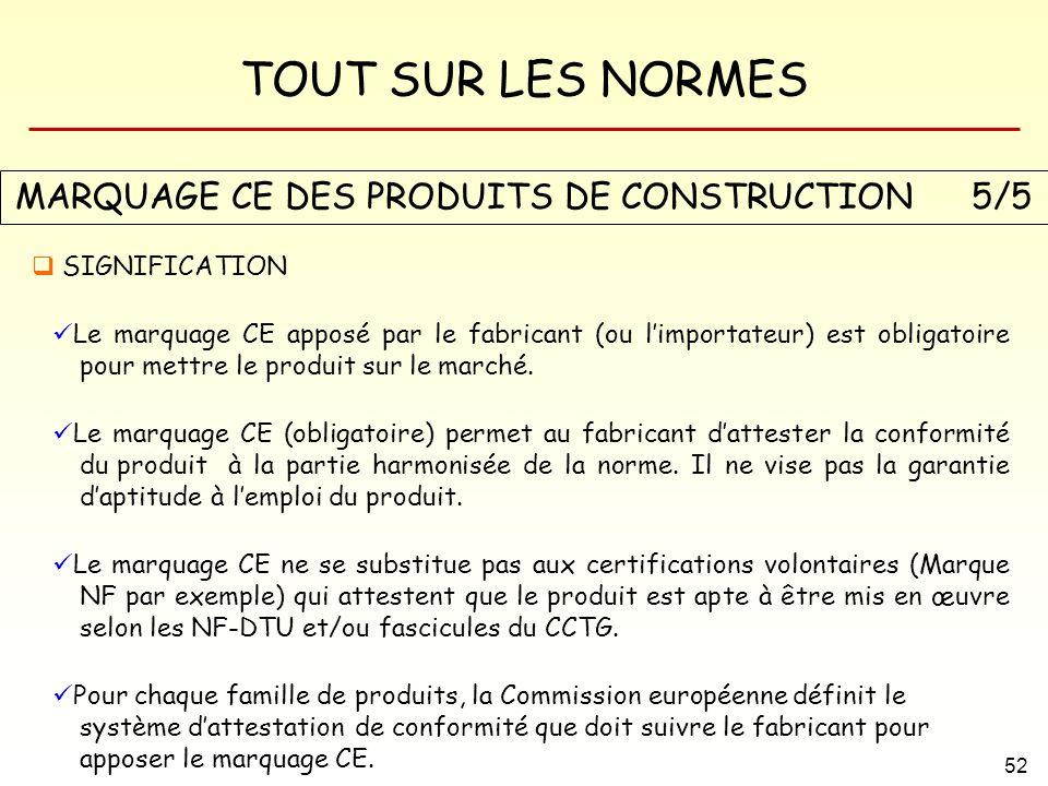 MARQUAGE CE DES PRODUITS DE CONSTRUCTION 5/5