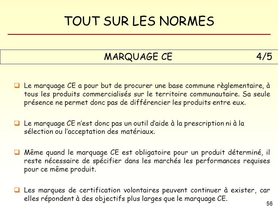 MARQUAGE CE 4/5