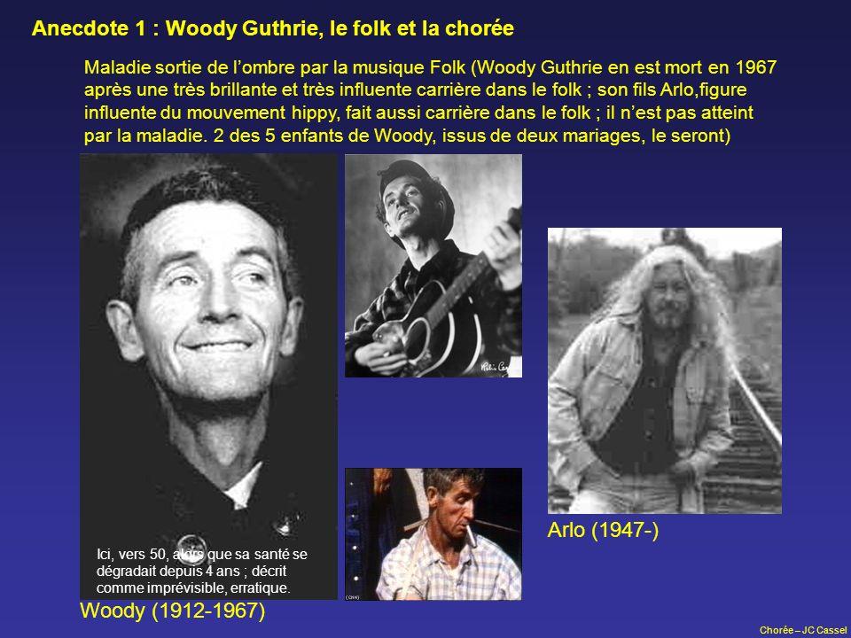 Anecdote 1 : Woody Guthrie, le folk et la chorée
