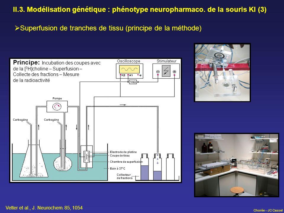 Superfusion de tranches de tissu (principe de la méthode)