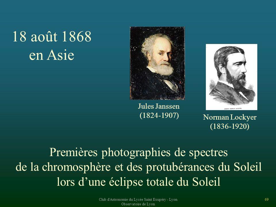 18 août 1868 en Asie Premières photographies de spectres