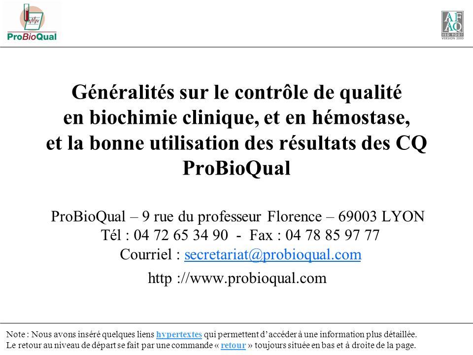 Courriel : secretariat@probioqual.com http ://www.probioqual.com