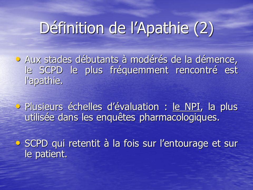 Définition de l'Apathie (2)