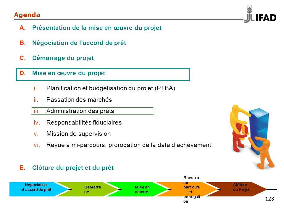 Présentation de la mise en œuvre du projet
