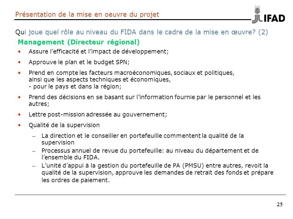 Management (Directeur régional)