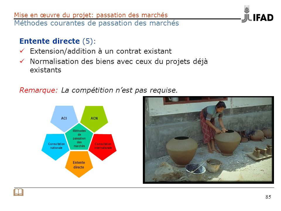 & Entente directe (5): Extension/addition à un contrat existant