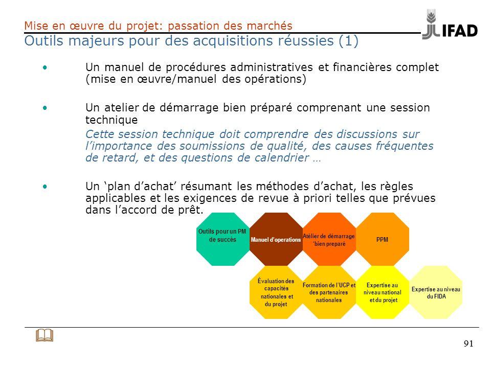 & Outils majeurs pour des acquisitions réussies (1)
