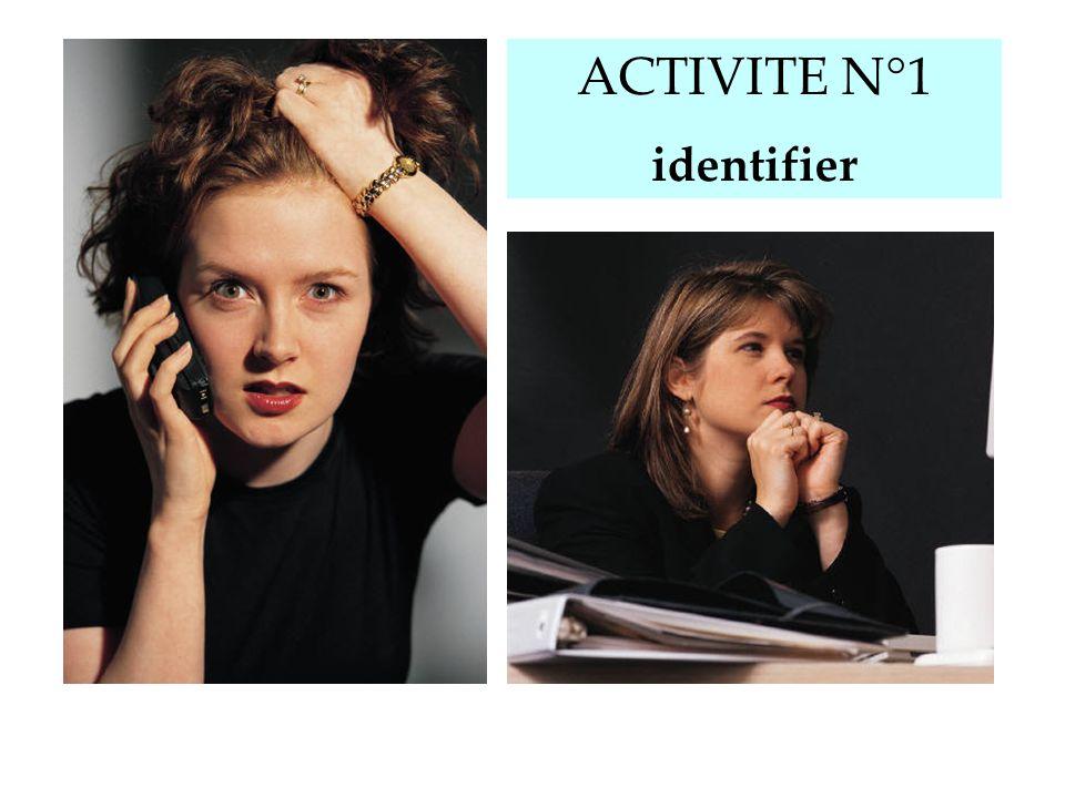 ACTIVITE N°1 identifier Donner la fiche n°1