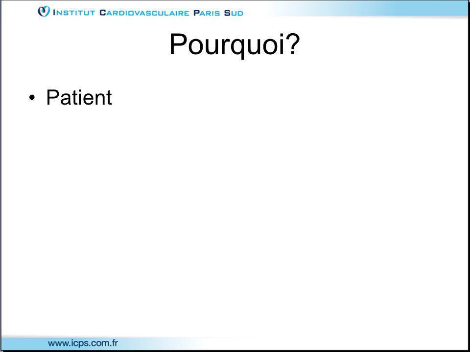 Pourquoi Patient