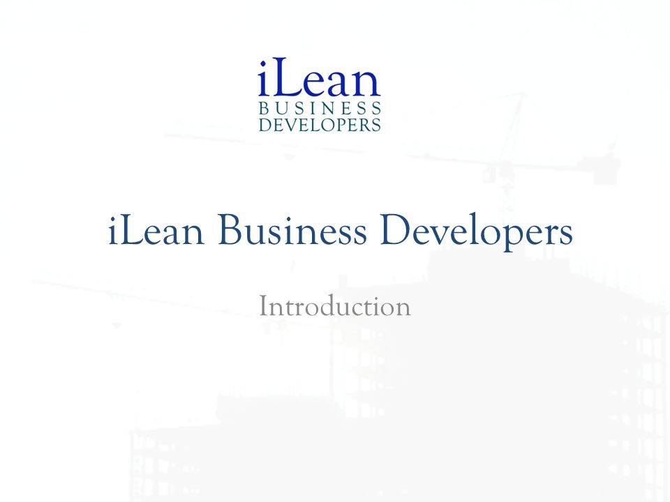 iLean Business Developers
