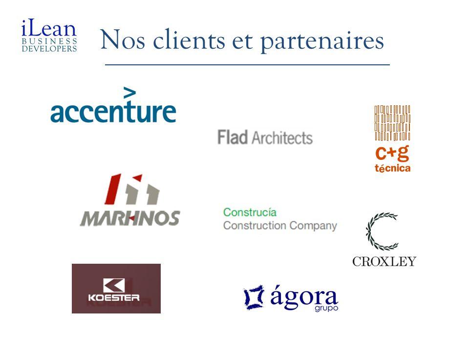 Nos clients et partenaires