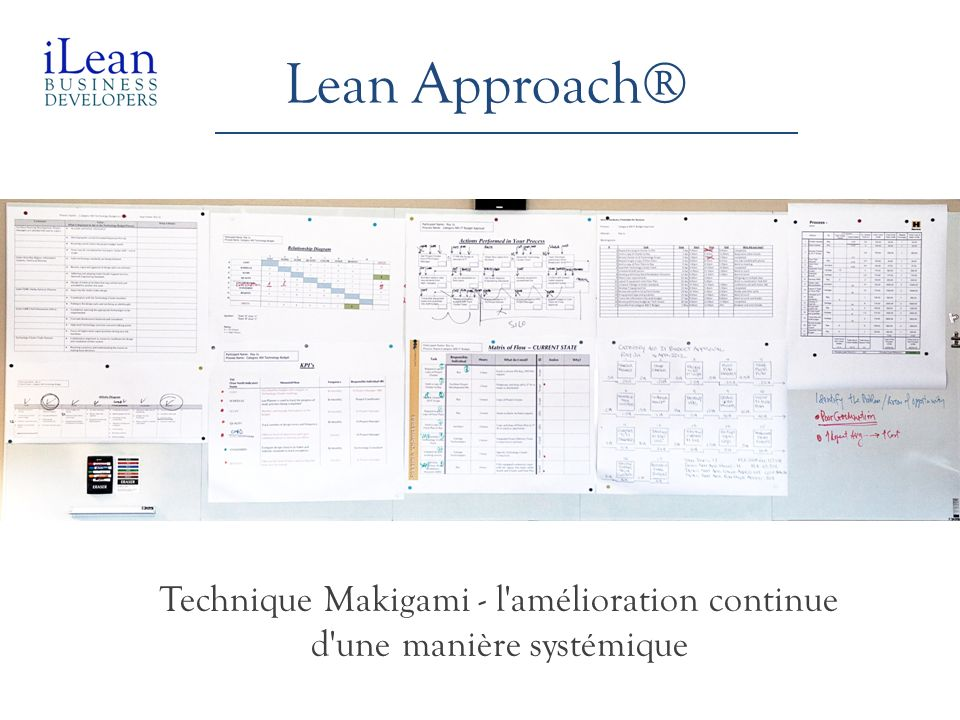 Technique Makigami - l amélioration continue d une manière systémique