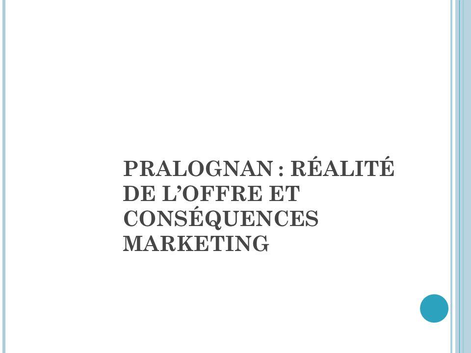 PRALOGNAN : RÉALITÉ DE L'OFFRE ET CONSÉQUENCES MARKETING