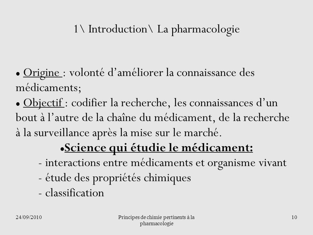 1\ Introduction\ La pharmacologie