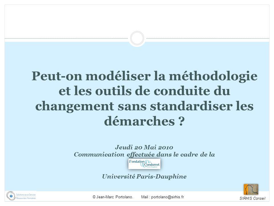 Communication effectuée dans le cadre de la Université Paris-Dauphine