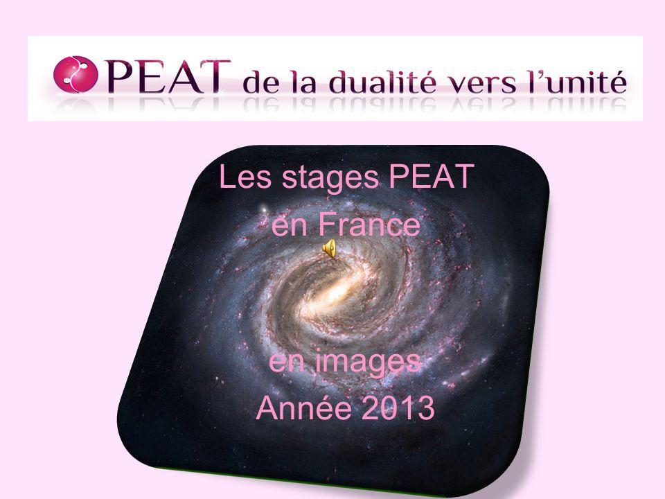 Les stages PEAT en France en images Année 2013