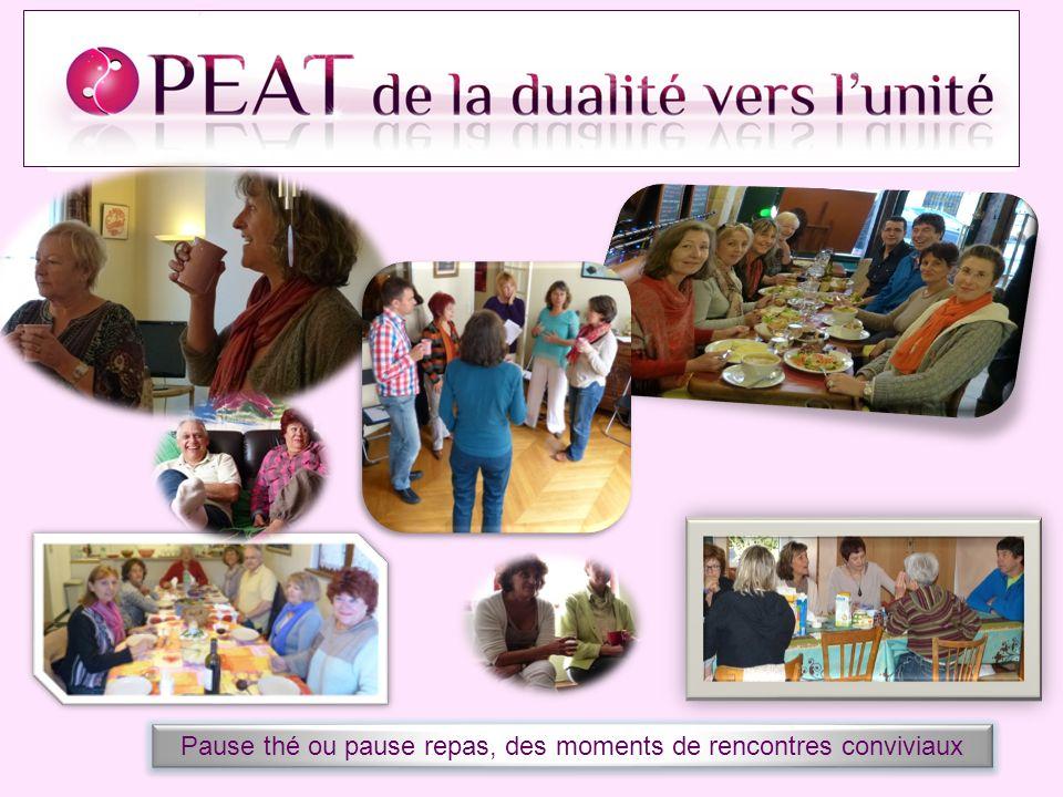 Pause thé ou pause repas, des moments de rencontres conviviaux