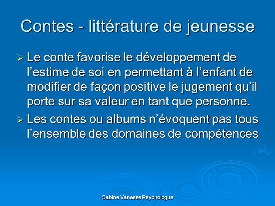 Contes - littérature de jeunesse