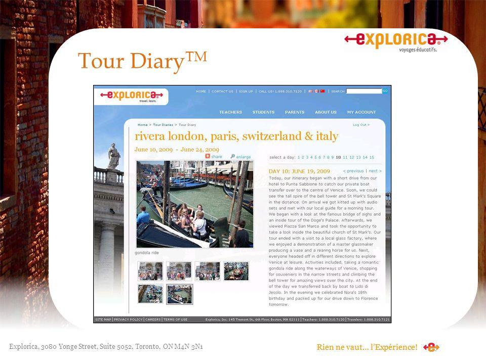 Tour DiaryTM