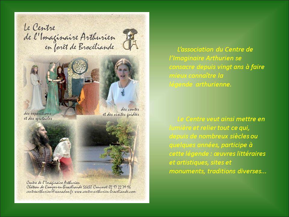 L'association du Centre de l'Imaginaire Arthurien se consacre depuis vingt ans à faire mieux connaître la légende arthurienne.