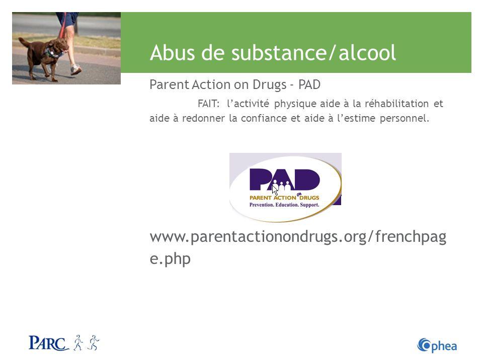 Abus de substance/alcool